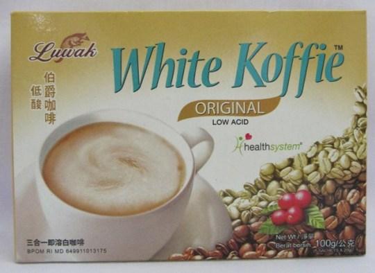 kopi putih cap Luwak