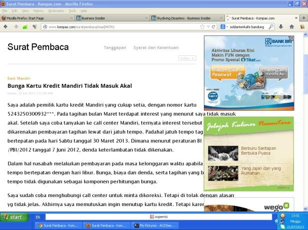 Tampilan Firefox
